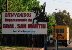 Cronograma de actividades para Mendoza