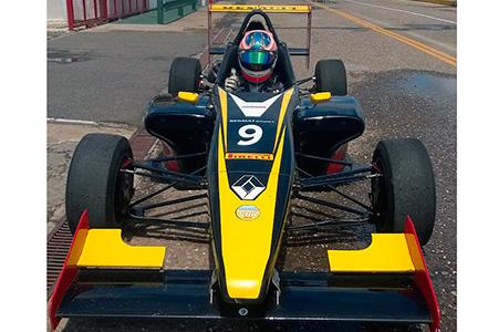 El Croizet Racing probó en San Jorge